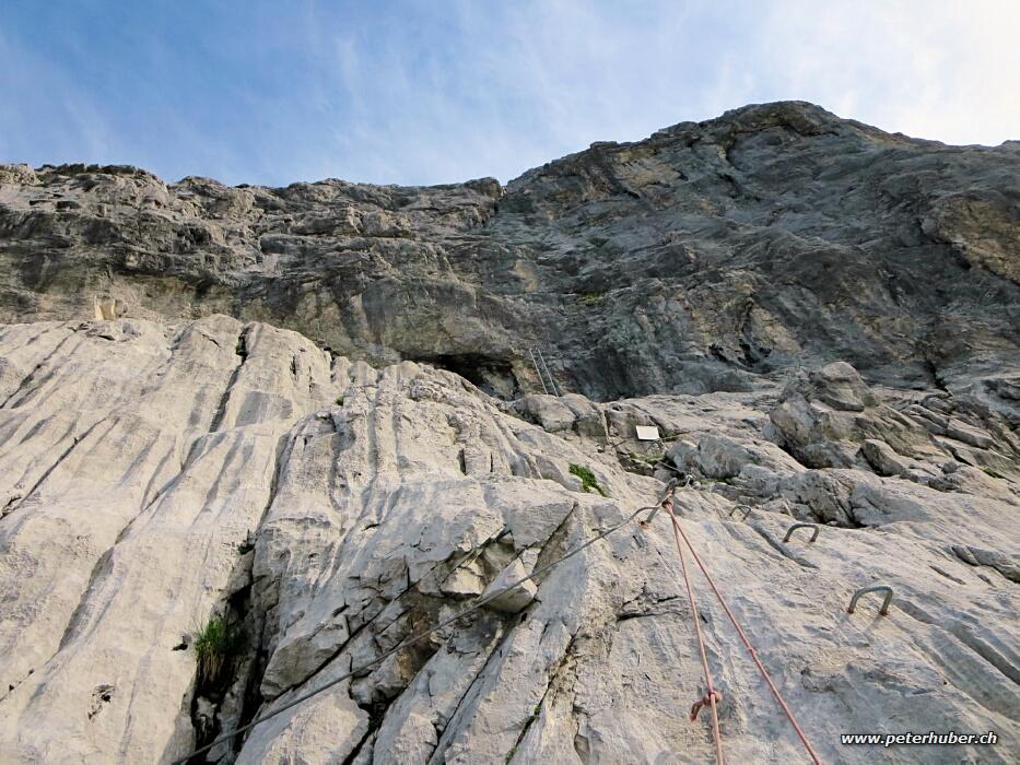 Klettersteig Sulzfluh : Klettersteig sulzfluh bild von