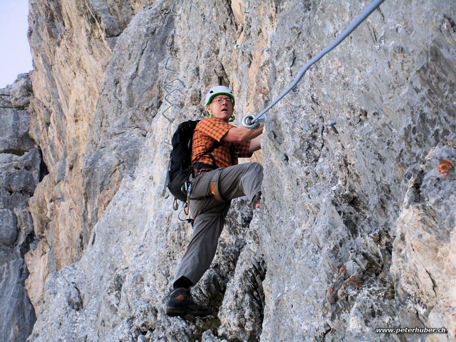 Klettersteig Bälmeten : Klettersteig bälmeten: bild 14 von 27